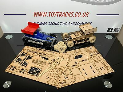 Build Your Own Stock Car - Brisca F1 - Wooden Slot Together Model Kit • 19.95£