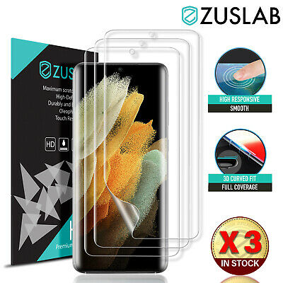 AU8.95 • Buy Hydrogel Screen Protector For Samsung Galaxy S21 S20 Plus Ultra FE S10 Note 20 9
