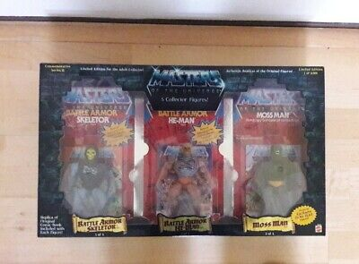 $299 • Buy Masters Of The Universe 5 Collector Figures Set Moss Man Skeletor Clawful Zodak