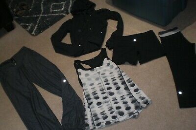 $ CDN95 • Buy  Lot Of Lululemon Pants, Crops, Shorts, Hoodie And Rare Tank Sz 6