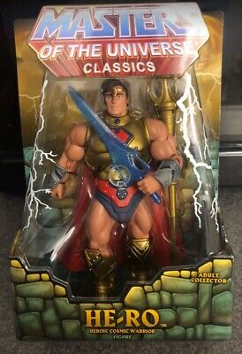 $60 • Buy MOTU Classics Masters Of The Universe SDCC Exclusive HE-RO Son Of He-Man Figure