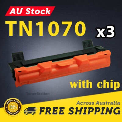 AU26.50 • Buy 3x Toner Cartridge TN1070 TN-1070 For Brother HL-1110 DCP-1510 MFC-1810 Printer