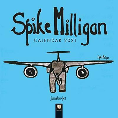 Spike Milligan Mini Wall Calendar 2021 (Art Calendar) • 4.67£