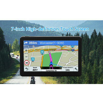 AU64.17 • Buy Car Truck Nav GPS Navigation System 8GB 256MB Voice Guidance Free Map Update