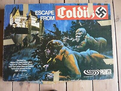 Escape From Colditz Parker Board Game  • 21£