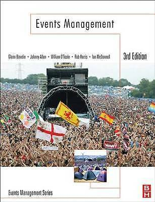 £14.99 • Buy Events Management By William O'Toole, Johnny Allen, Glenn A. J. Bowdin, Ian...