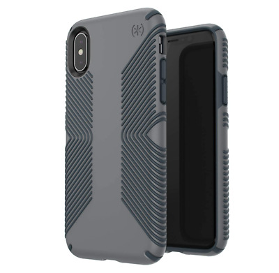AU19.21 • Buy Speck Presidio Grip Case For Apple IPhone XS And X Grey