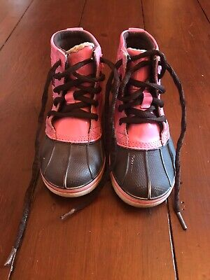 Girls Crocs Snow Boots Size 10 • 5£
