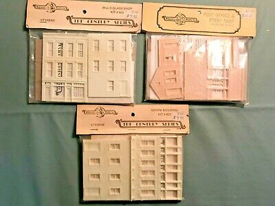 $ CDN22.92 • Buy Magnuson Model Ho Scale Buildings Vintage New In Package 3 Different Ho Trains