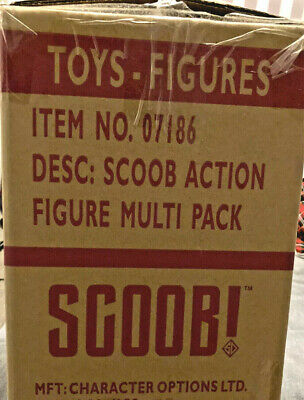 £35.98 • Buy Final Reductions! Toys Wholesale Box Scoob! Movie Scooby Doo Action Figure Set