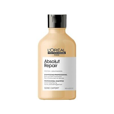 L'Oreal Serie Expert Absolut Repair Gold Shampoo 300ml • 12.99£