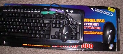 £10.60 • Buy Multimedia Keyboard And Mouse PS2 Connections
