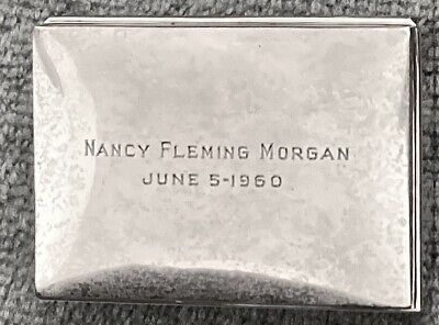 Sterling Silver Jewelry Box Engraved • 114.10£