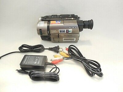$ CDN191.37 • Buy Sony Handycam CCD-TRV43 8mm Hi-8 Camcorder VG Condition - FOR TRANSFER ONLY