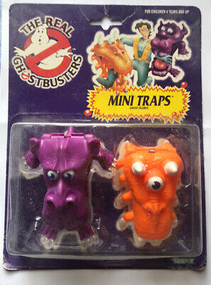 AU20 • Buy The REAL GHOSTBUSTERS Mini Traps Ghost Figures Vintage Used Opened Kenner