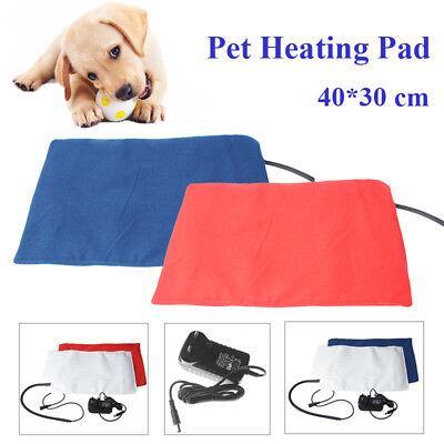 12V Pet Heat Pad Waterproof Electric Heated Mat For Puppy Dog Cat Winter Pet Bed • 19.19£
