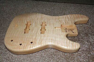 Warmoth Chambered Short Scale P Jazz Bass Guitar Body. Small Flaw/imperfection • 241£