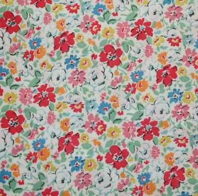 £6.99 • Buy Cath Kidston Ditsy Floral Haberdashery Fabric Flowers Fat Quarter By The Metre