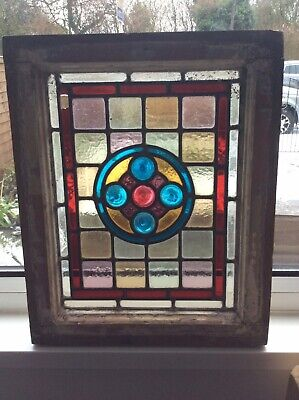 Leaded Light Stained Glass Window Frame • 39.99£