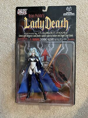 Chaos Comics - Brian Pulido's - Lady Death Figure Sculpceo By Clayburn Moore • 15.99£