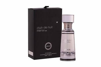 Club De Nuit Intense Men By Armaf 20ml Concentrated Perfume Oil Non Alcoholic. • 23£
