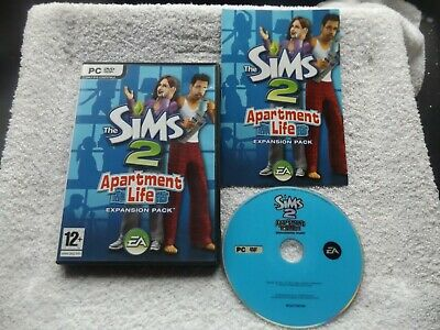 £24.90 • Buy The Sims 2 Apartment Life Expansion Pack Pc Dvd-rom V.g.c. Fast Post Complete