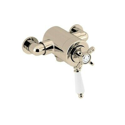 Bristan 1901 Exposed Concentric Shower Valve - Gold (Hot Inlet Left) RRP £580.00 • 305£