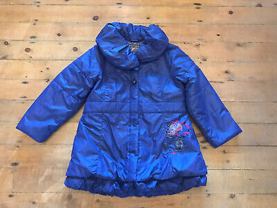 Girls Marese Purple Padded Winter Coat Age 8y • 12£