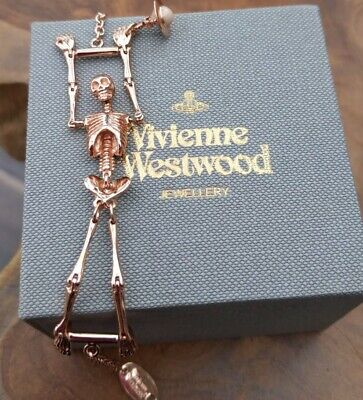 RELISTED OWING TO NON PAYMENT Vivienne Westwood Skeleton Bracelet Rose  Colour  • 75£