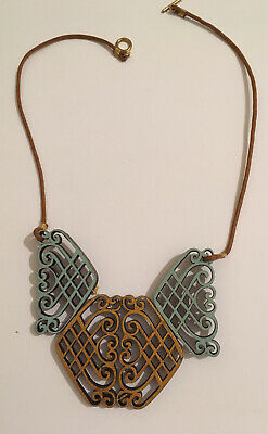 Beautiful Brand New Laser Cut Necklace • 5.90£