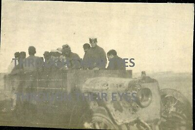 Original WW1 Photos RNAS Truck With Survivors Of Transport Ship Moorina 1915 • 35£