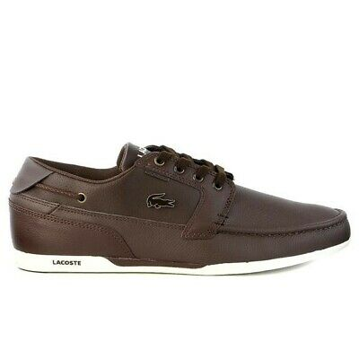 Lacoste Dreyfus Shoes Brown Leather • 50£