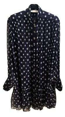 AU99 • Buy Zimmerman Sheer Polka Dot Silk Dress Size 0