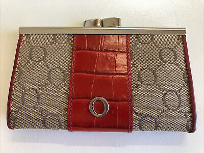AU16 • Buy OrotonSlim Frame Coin Purse - Taupe/Red