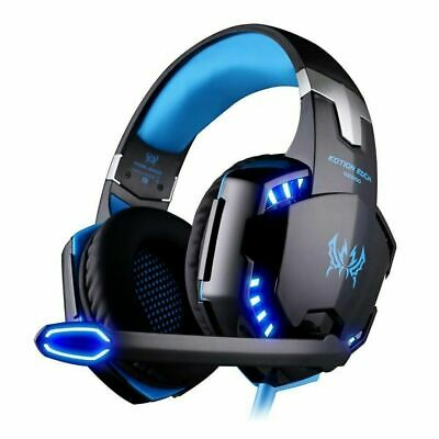 AU29.95 • Buy Gaming Headset USB Wired LED Headphones Stereo With Mic For PC Desktop & Laptop
