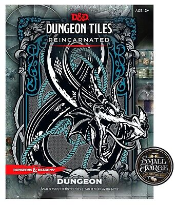 AU36.90 • Buy D&D Dungeon Tiles Reincarnated - DUNGEON, 5th Edition, NEW