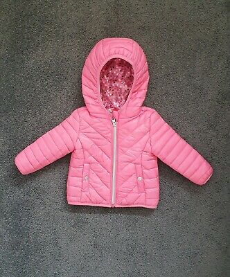 AU9.90 • Buy Higgledee Baby Hooded Puffer Jacket Outerwear Size 0 / 6 - 12 Months Worn Once