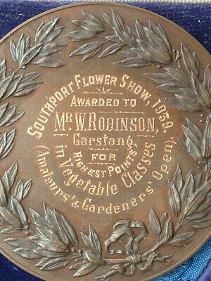 Royal Horticultural Society RHS Medal Boxed Southport Flower Show 1939  • 5.99£