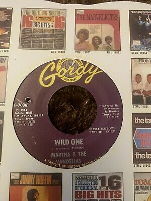 Martha And The Vandellas. Wild One/dancing Slow. Soul/northern • 3.99£