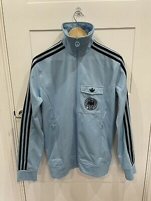 ADIDAS ORIGINALS 1974 70s WEST GERMANY TRACK JACKET TOP TT DFB SIZE M NOT VENTEX • 74.99£