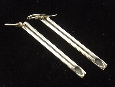 Sterling Silver Earrings  By Ola Gorie Very Simple Mackintosh Design Scottish • 69.99£