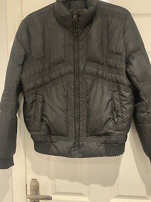 Black Versace Bombar Jacket Without Tags • 40£