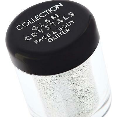 Collection Glam Crystals Silver Face And Body Glitter Makeup, Fallen Angel  • 3.99£