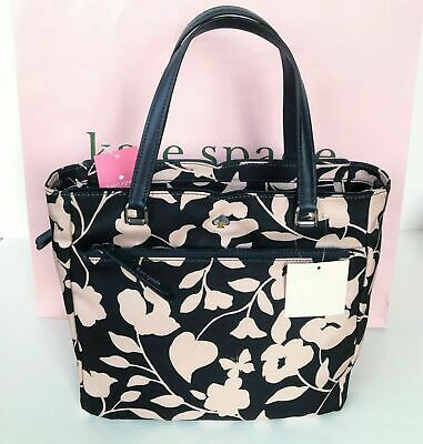 $ CDN103.48 • Buy NWT Kate Spade Jae Garden Vine Medium Nylon Satchel Crossbody Purse Bag NEW