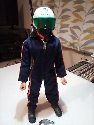 Vintage Palitoy Action Man Helicopter Pilot • 30£