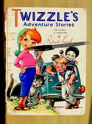 1958 TWIZZLE'S Adventure Stories, Twizzle ~ Roberta Leigh, Gerry Anderson • 20.95£