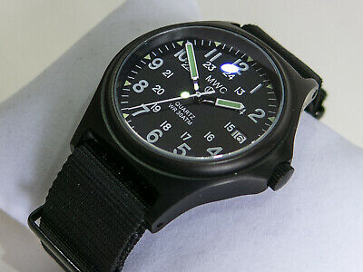MWC G10 300m Military Watch. Black PVD Case. Sapphire Crystal. Screw Down Crown • 62£