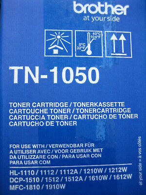 AU70.36 • Buy Brother Toner TN-1050 New Product Original Packaging HL-1210W DCP-1512 -1610