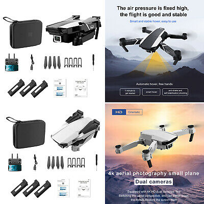 AU55.03 • Buy Foldable Mini Drone RC Quadcopter With Dual Cameras For Boys And Girls