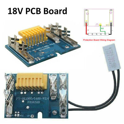 £6.99 • Buy 18V Rechargeable Battery PCB Replacement Chip Board For Makita BL1830 UK Stocks